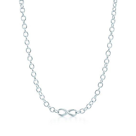 Infinity necklace tiffany