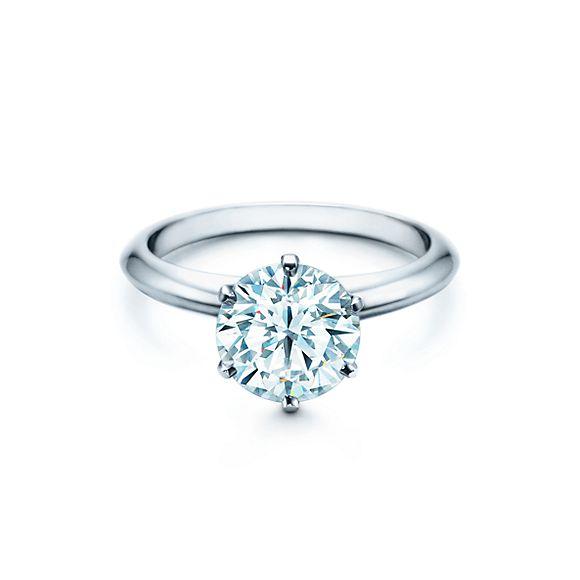 round cut engagement rings tiffany - Wedding Rings Tiffany