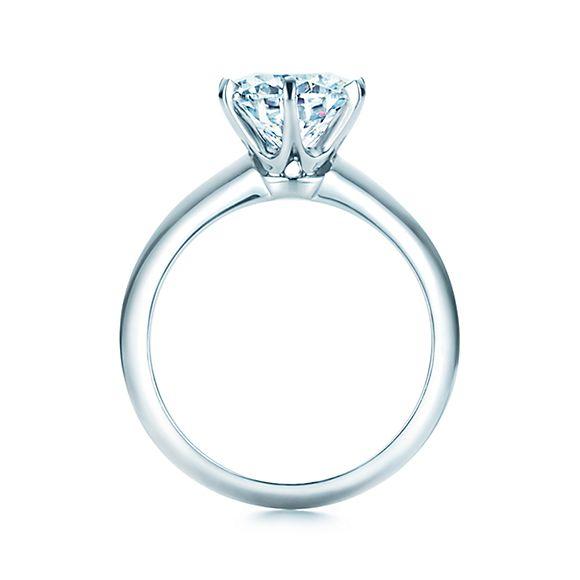 Classic Tiffany Setting Engagement Ring