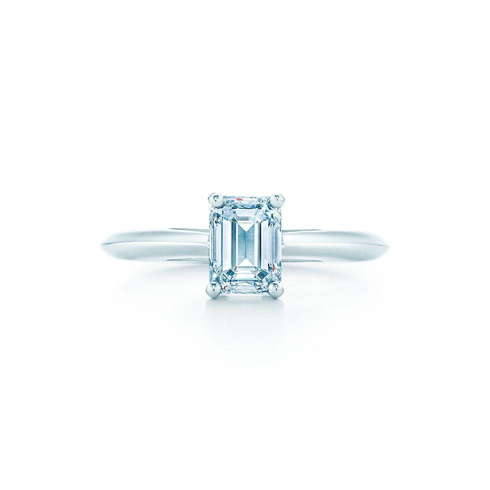 Emerald Cut Engagement Rings Engagement Rings   Tiffany U0026 Co.