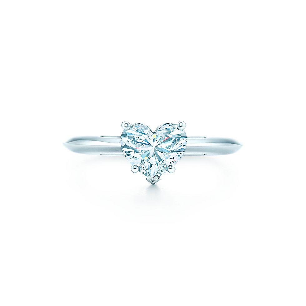 heart shape engagement rings tiffany co - Wedding Rings Tiffany