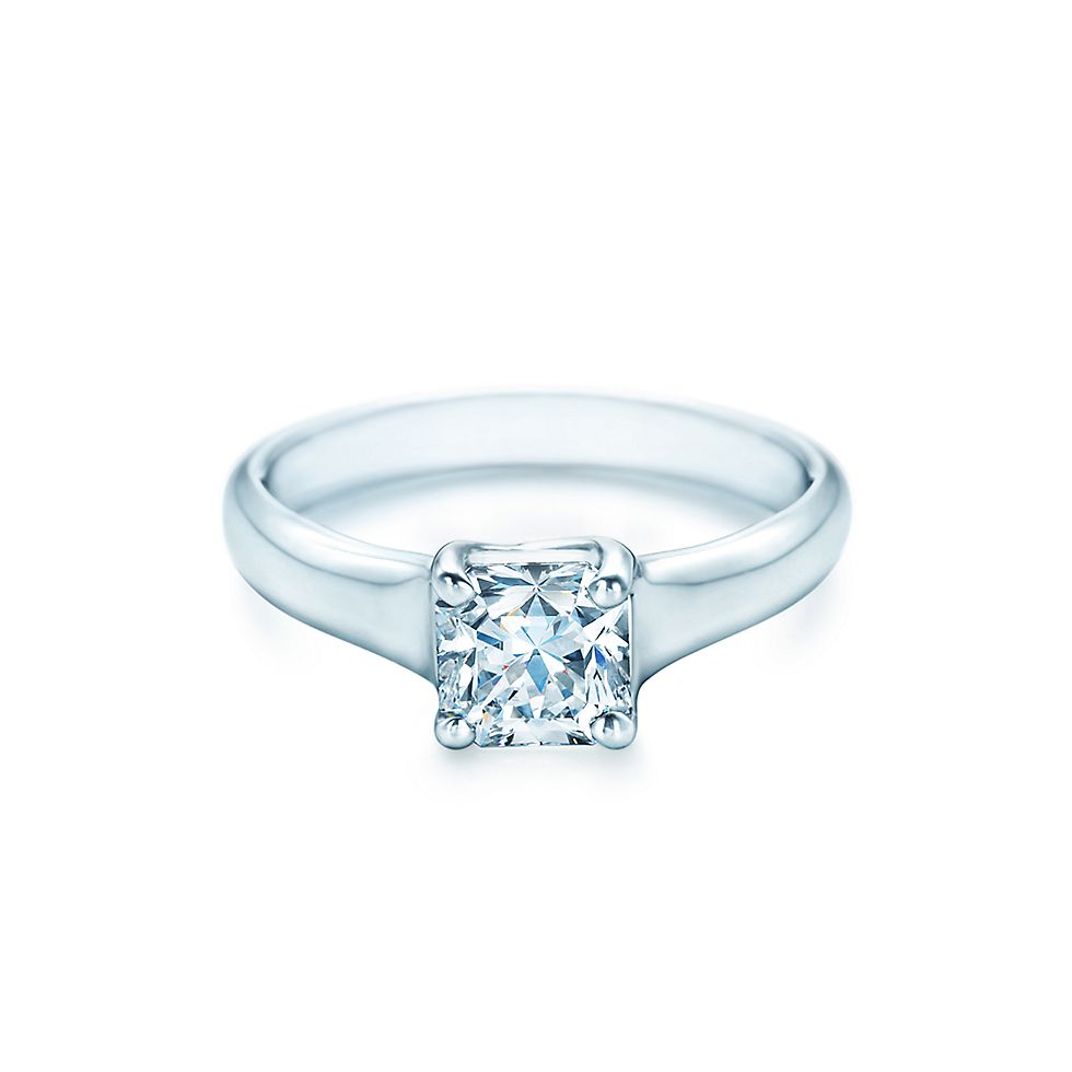 Lucida Solitaire Engagement Rings Engagement Rings Tiffany Co