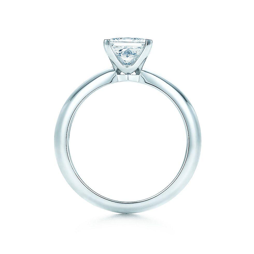 Superb Princess Cut Diamond Engagement Ring Engagement Rings | Tiffany U0026 Co. Photo Gallery