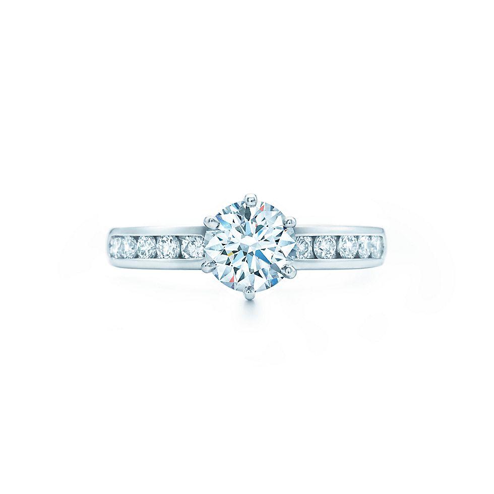 diamond engagement rings the tiffany setting engagement rings tiffany co - Wedding Rings Tiffany
