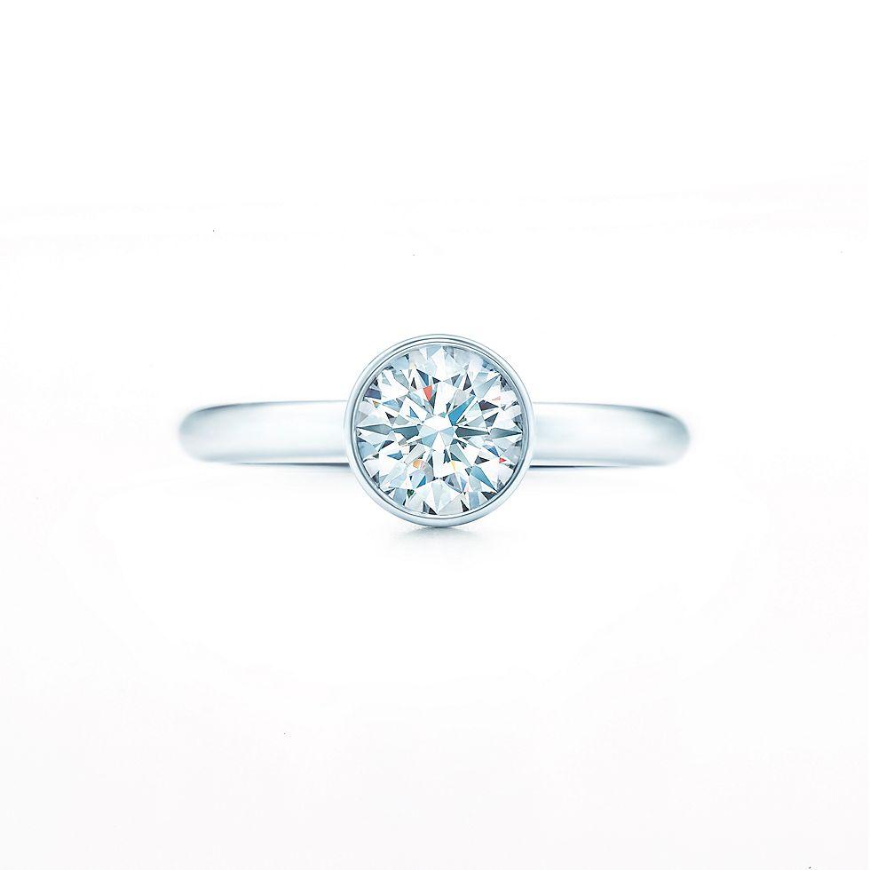 tiffany bezet round engagement rings tiffany co - Wedding Rings Tiffany
