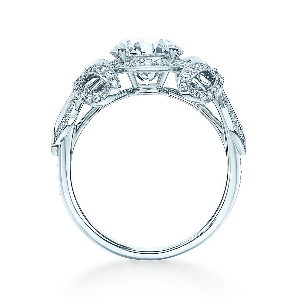 Tiffany Bow Ribbon Ring Engagement Rings Tiffany Co