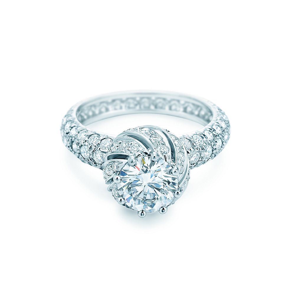 Schlumberger® Buds Ring Engagement Rings | Tiffany & Co.