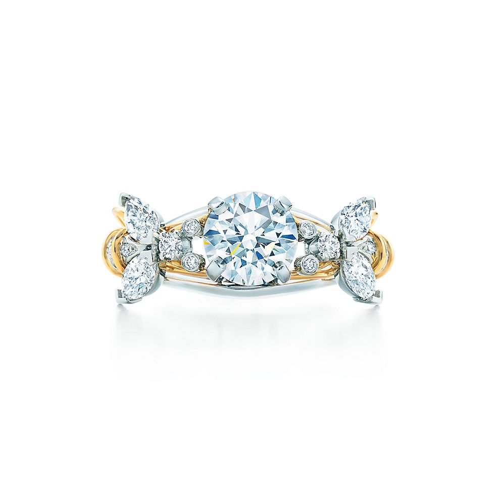 Tiffany & Co Schlumberger Two Bees Ring Engagement Rings