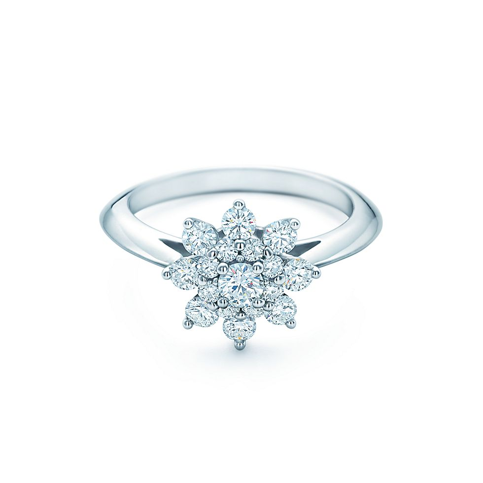 Engagement Rings Tiffany Flower Tiffany Rings For Sale