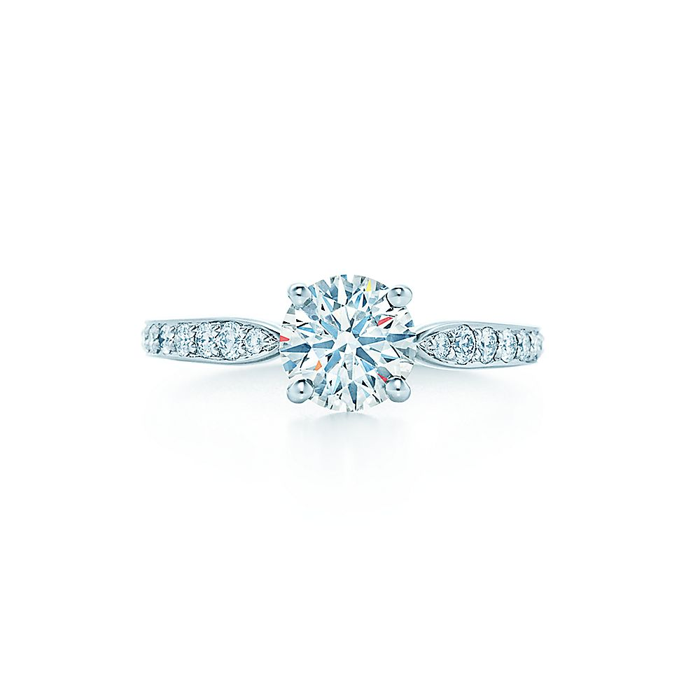 Tiffany Harmony™ with Bead-set Band