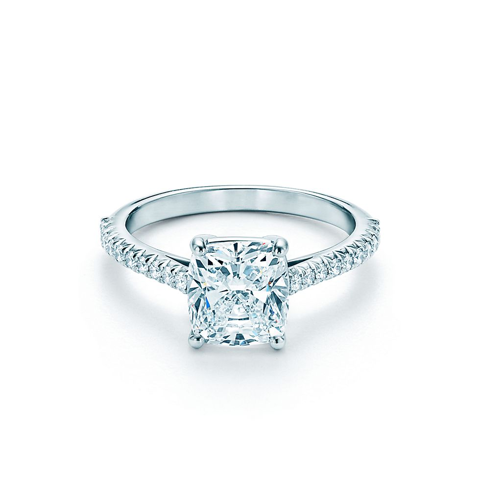 tiffany novo cushion cut - Tiffanys Wedding Rings