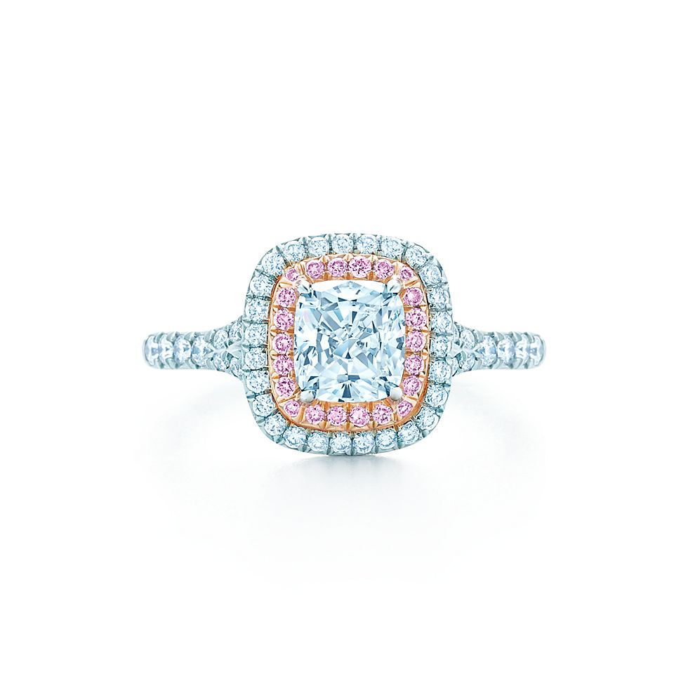 Tiffany Soleste Cushion Engagement Rings