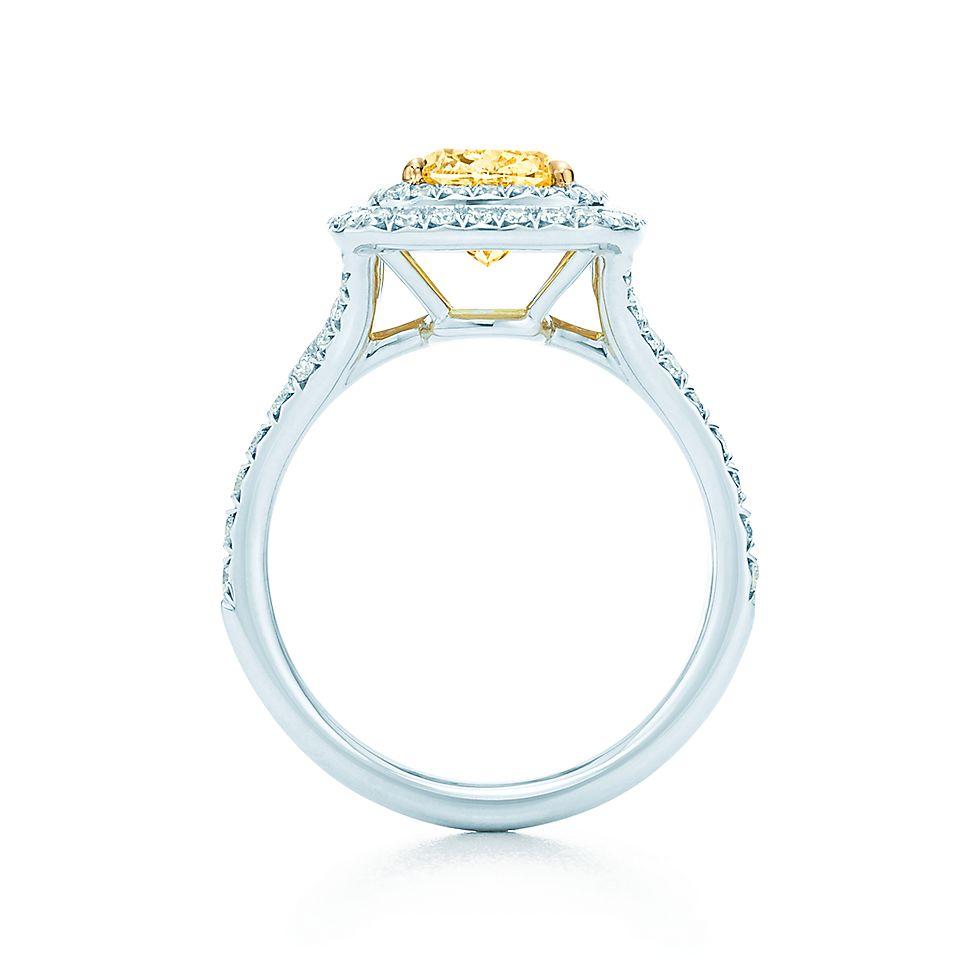 Tiffany Soleste Cushion Engagement Rings