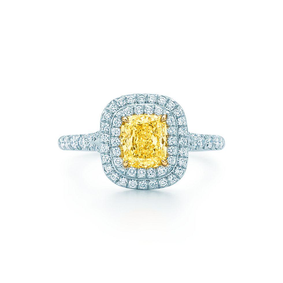 Tiffany Soleste Cushion Verlobungsringe