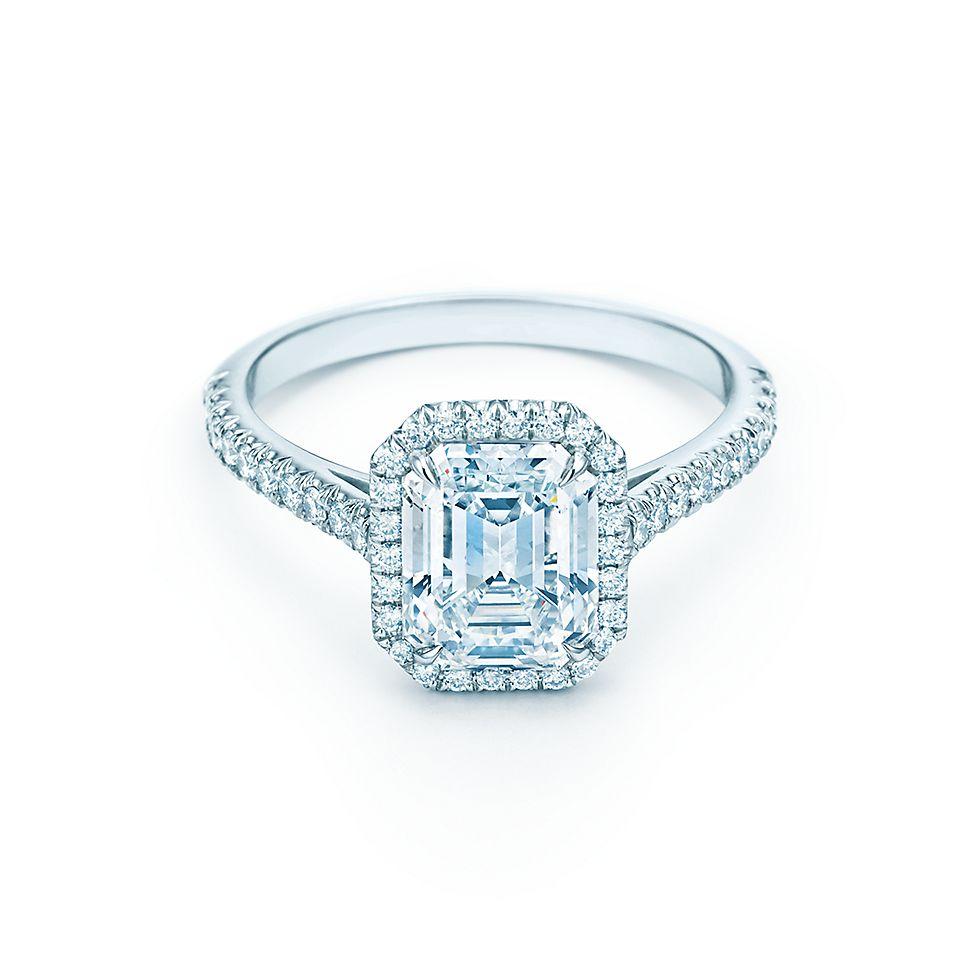 Tiffany Soleste® Emerald Cut