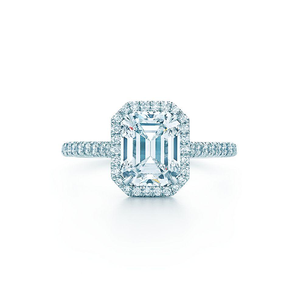 Tiffany Soleste Emerald Cut Engagement Rings | Tiffany & Co.