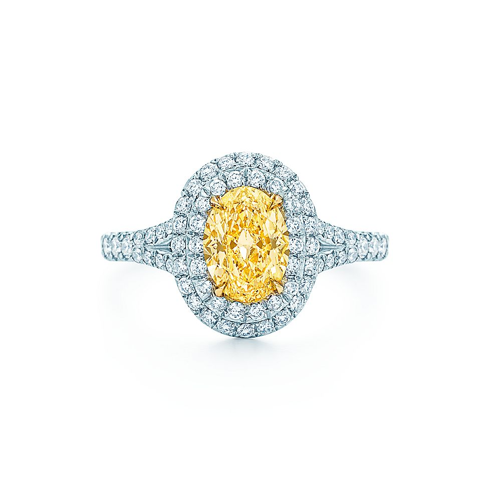 Tiffany Soleste Oval Engagement Rings Tiffany Amp Co