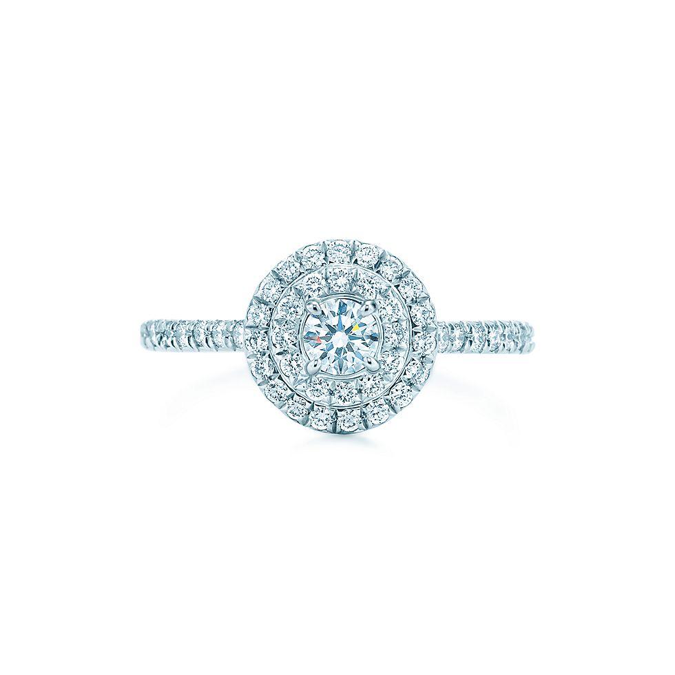 tiffany soleste round engagement rings tiffany amp co