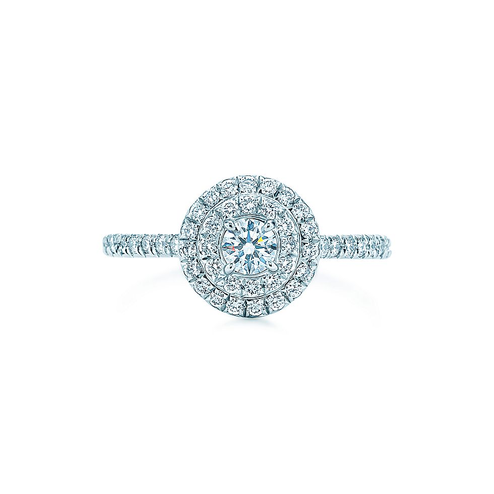 Tiffany Engagement Rings Round Tiffany Soleste...