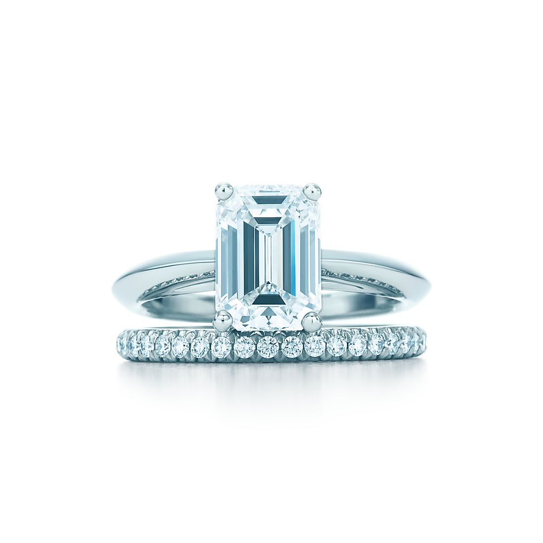2.0 shown with Tiffany Soleste® Diamond Band Ring