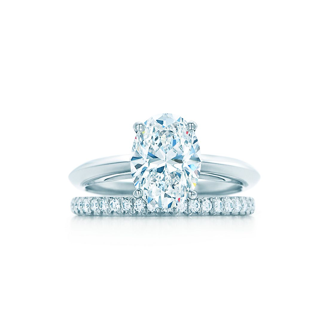 Oval Cut Diamond Engagement Rings | Tiffany & Co.