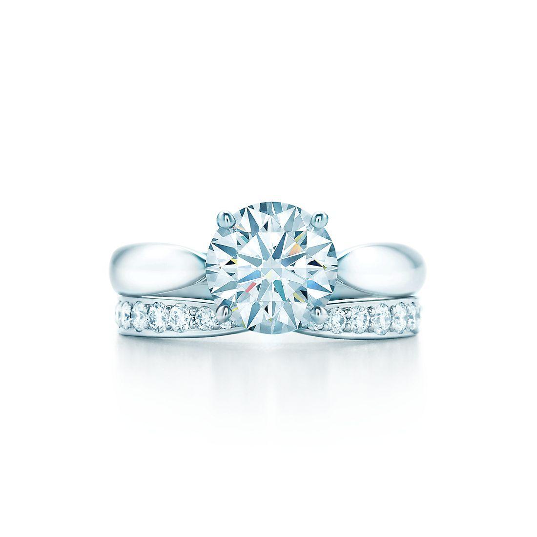 149 ct shown with tiffany harmony band ring - Tiffany Wedding Ring