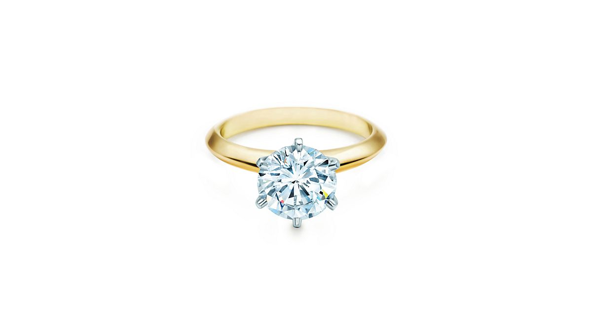 The Tiffany Setting 18K Yellow Gold Engagement Rings