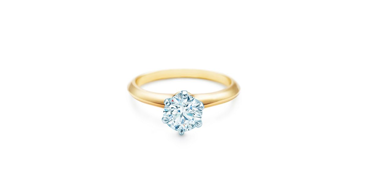 yellow gold diamond engagement ring engagement rings tiffany co