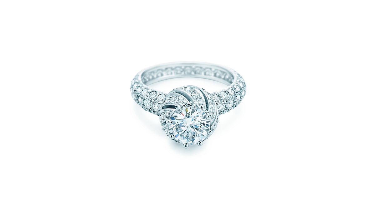 Tiffany Amp Co Schlumberger 174 Buds Ring Engagement Rings