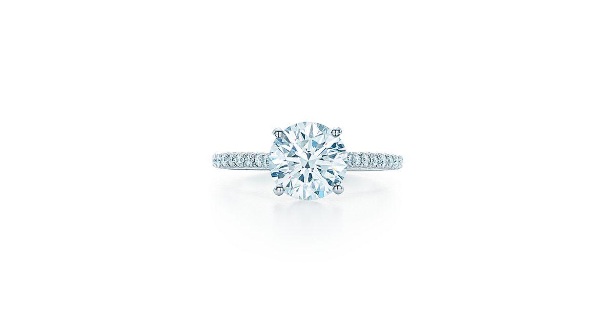 Tiffany Engagement Rings Round Tiffany Novo® Eng...