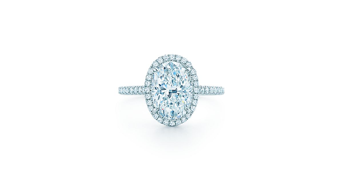 Tiffany Soleste Oval Engagement Rings