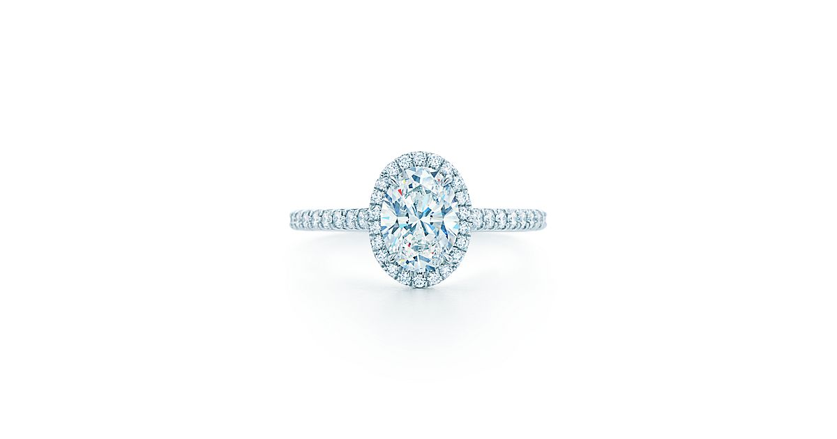 tiffany soleste oval engagement rings tiffany co
