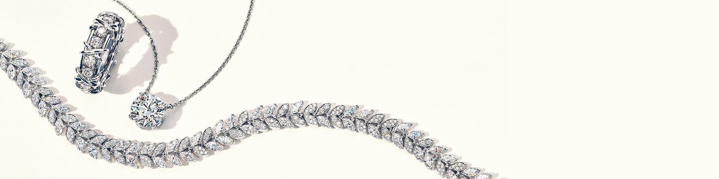 Tiffany & Co. Diamond Jewelry
