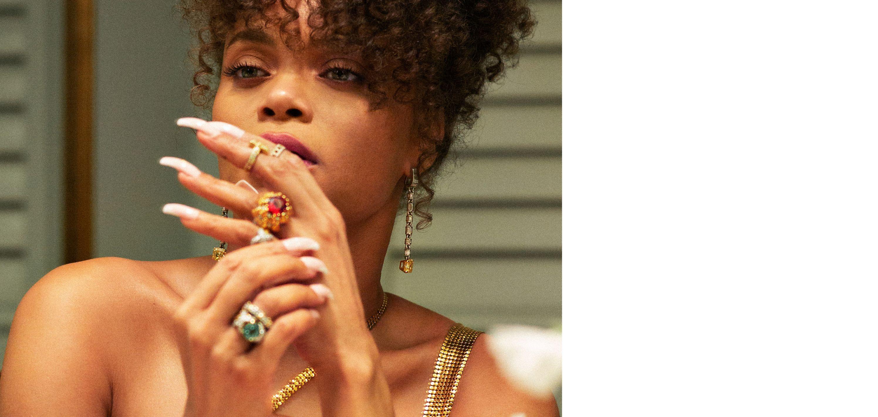 Square emerald-cut fancy vivid yellow diamonds