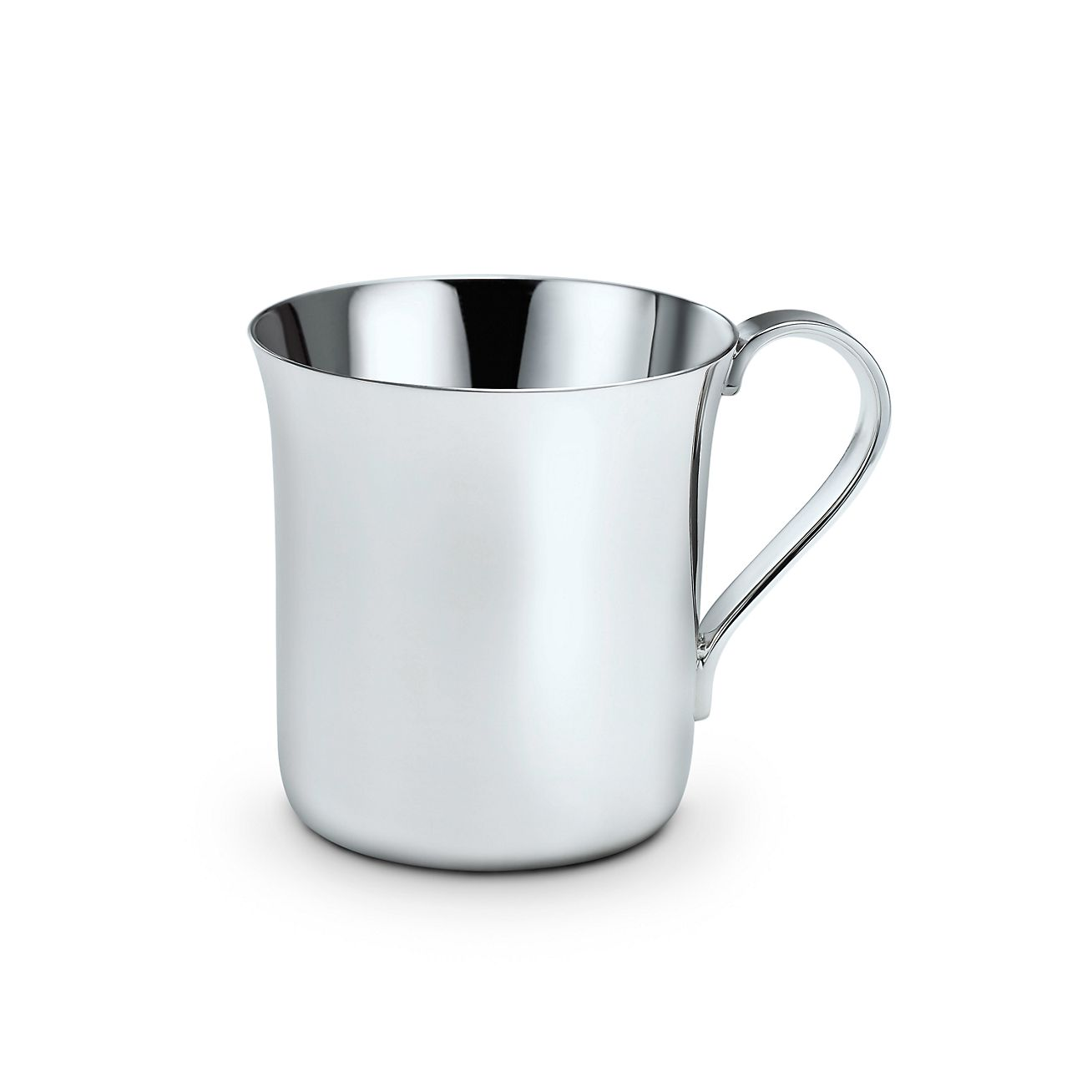classic baby cup sterling silver tiffany co