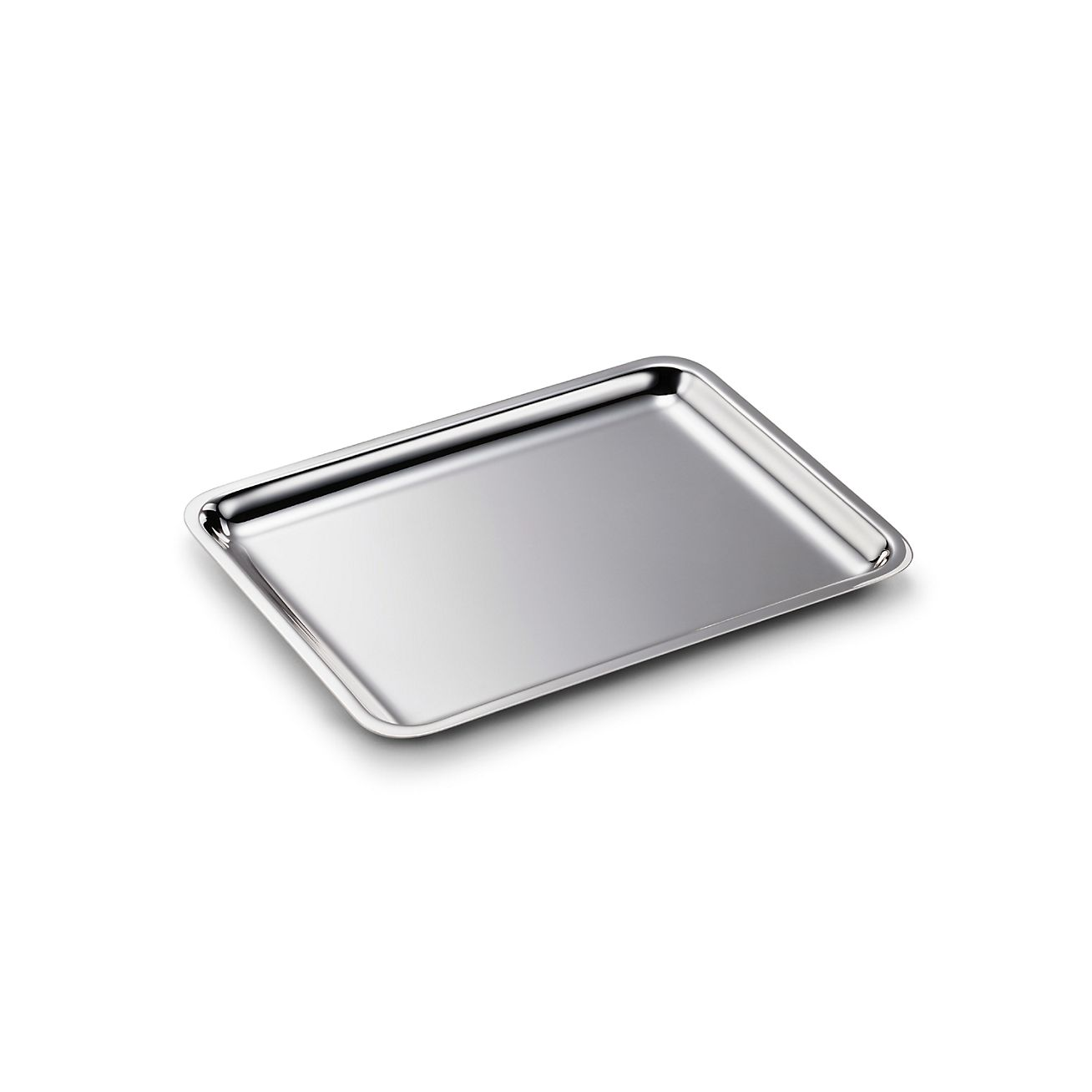 tiffany classic rectangular tray in sterling silver tiffany co