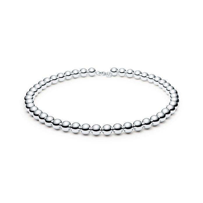 94183af7f Tiffany HardWear ball necklace in sterling silver. | Tiffany & Co.