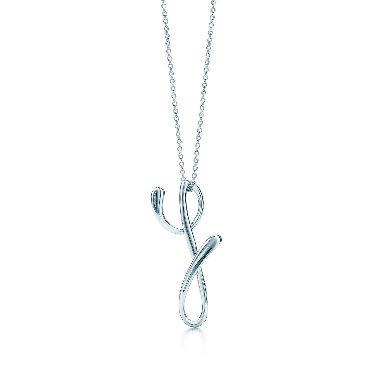 Elsa Peretti Lettre Pendentif Y En Argent Sterling, Petite - Taille Y Tiffany & Co.