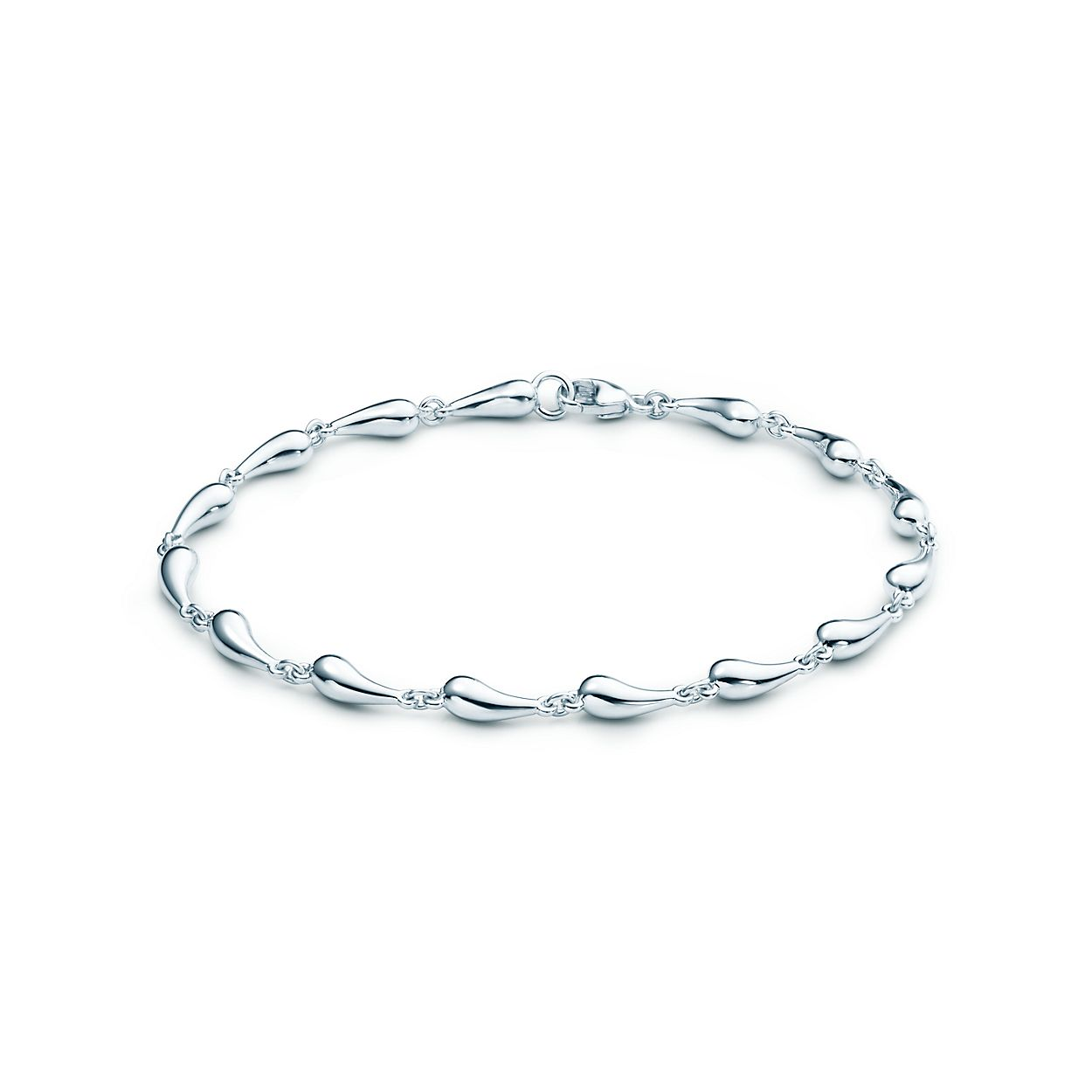 Tiffany 1837 circle bracelet in sterling silver, medium - Size 7.25 IN Tiffany & Co.