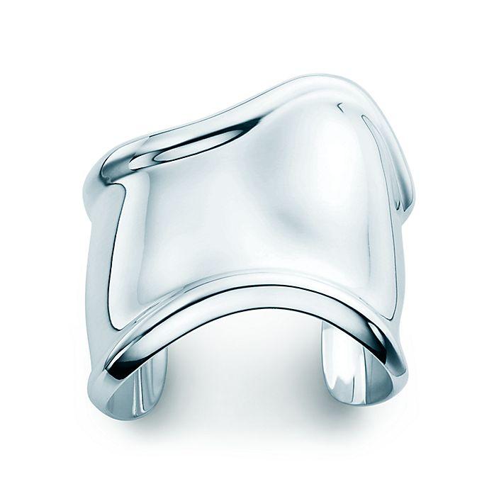 d2e247d7f Elsa Peretti® Bone cuff in sterling silver for the right wrist ...