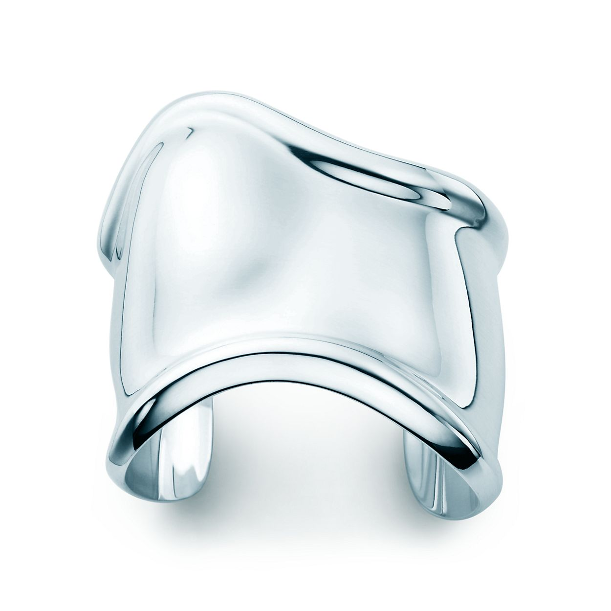 Elsa Peretti Bone cuff in sterling silver, small, right wrist - Size Medium Tiffany & Co.