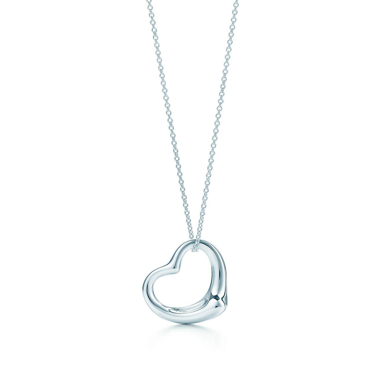 Elsa peretti open heart pendant in sterling silver tiffany co elsa perettiopen heart pendant aloadofball Choice Image