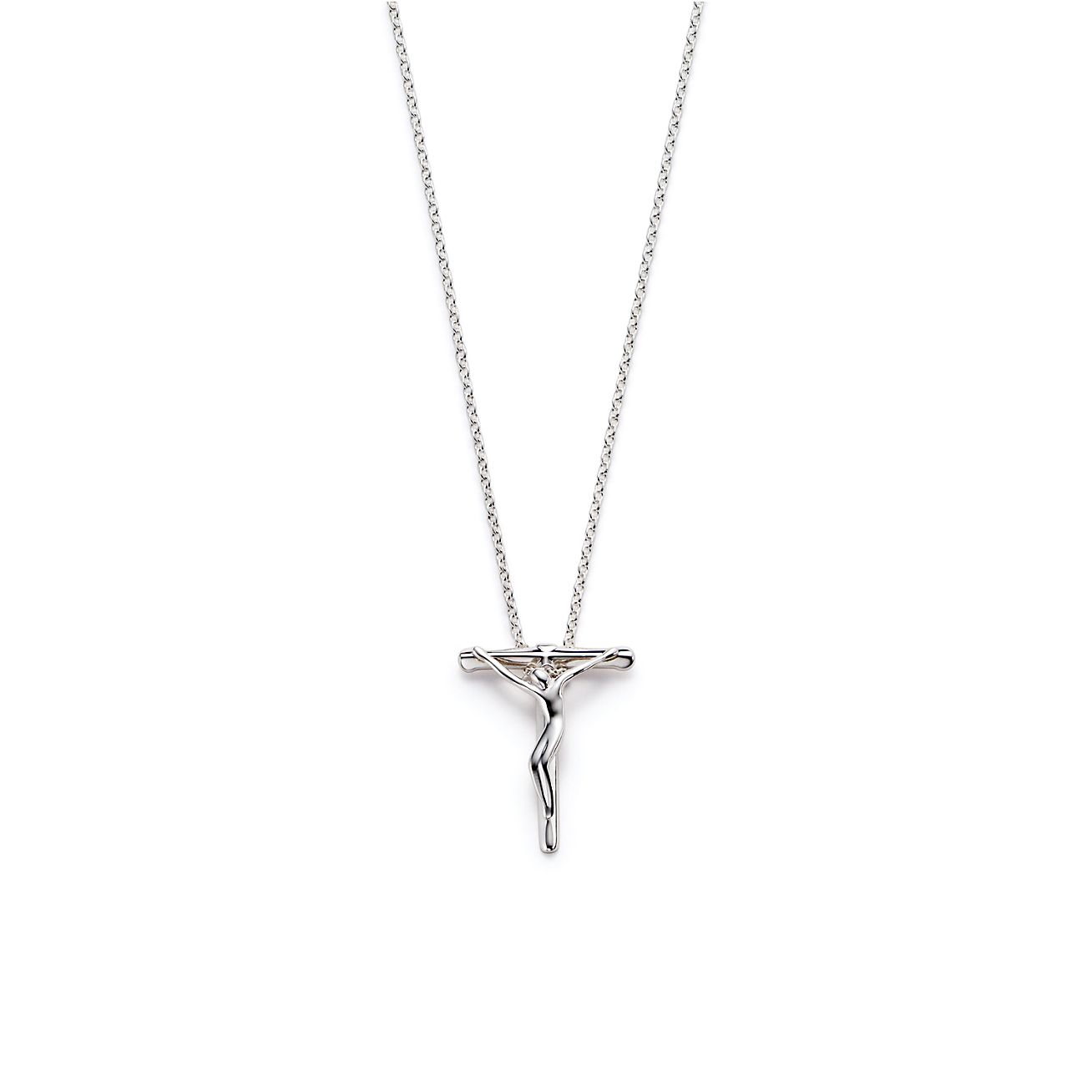 wh sterling diamond crucifix silver jesus pendant