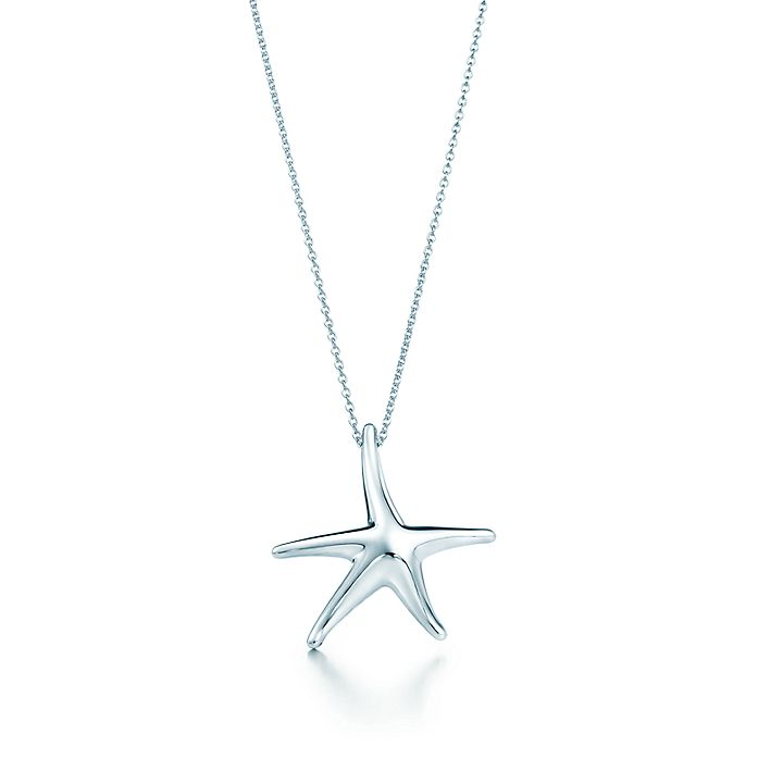 6ac0942d5 Elsa Peretti® Starfish pendant in sterling silver, 28 mm. | Tiffany ...