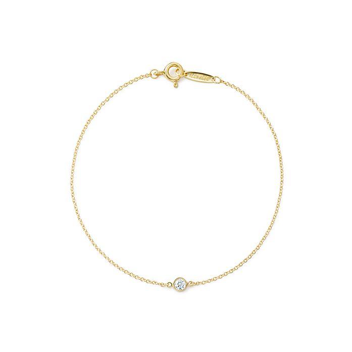 020f2aecc Elsa Peretti® Diamonds by the Yard® bracelet in 18k gold.   Tiffany ...