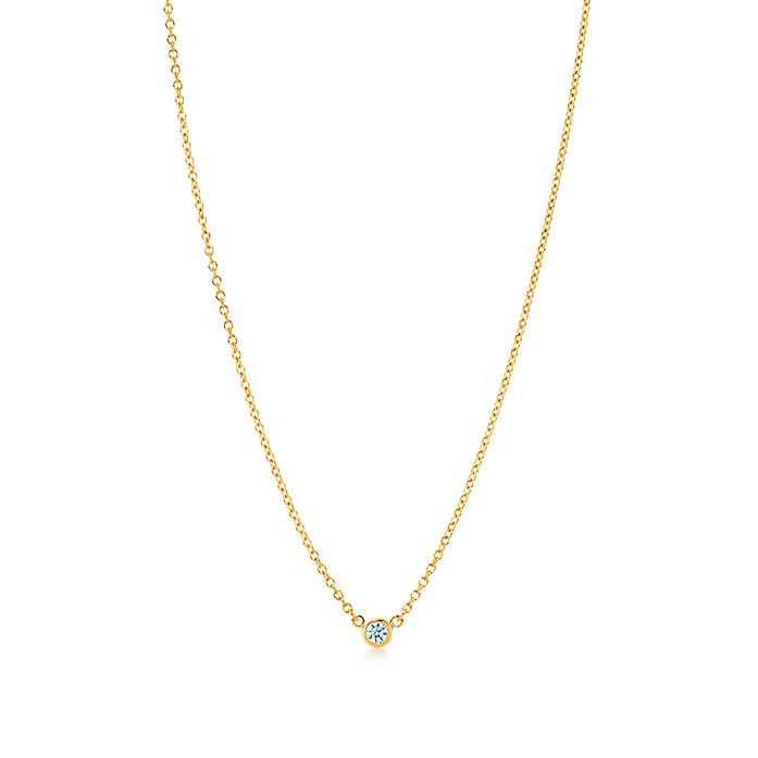 ba392753a Elsa Peretti® Diamonds by the Yard® pendant in 18k gold with carat ...