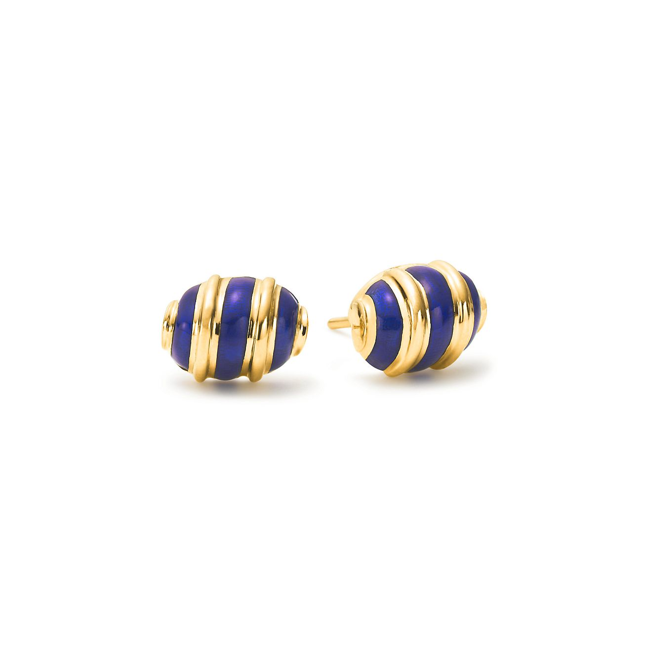 Schlumberger Olive Earrings