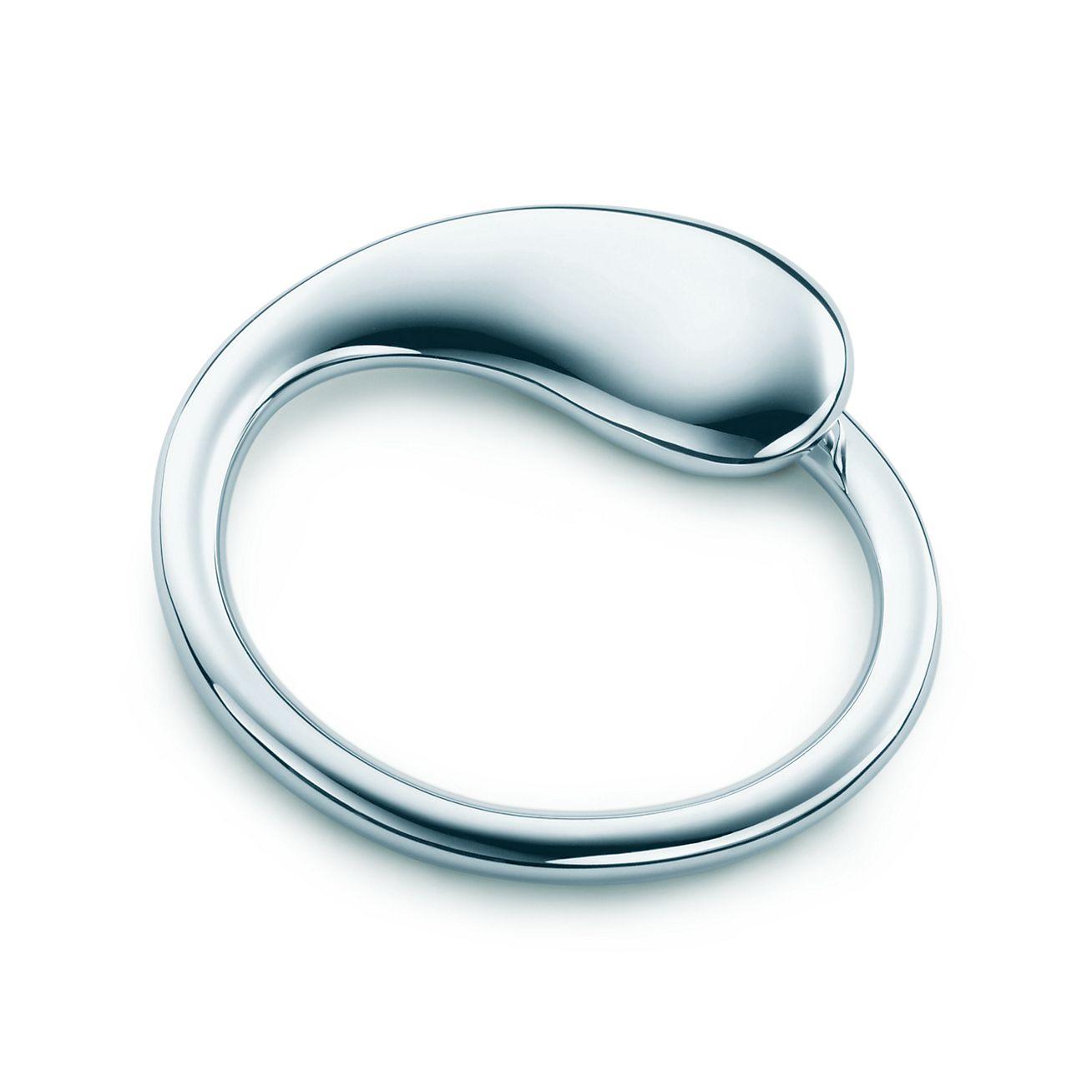 Elsa Peretti Open Heart key ring in sterling silver Tiffany & Co.