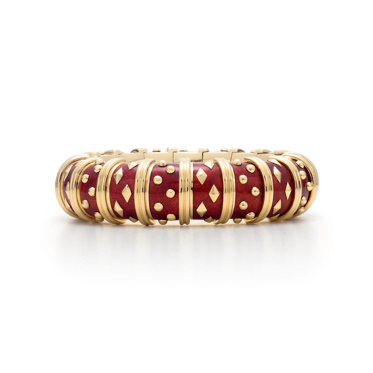 Schlumberger Dot Losange Bracelet Tiffany Co