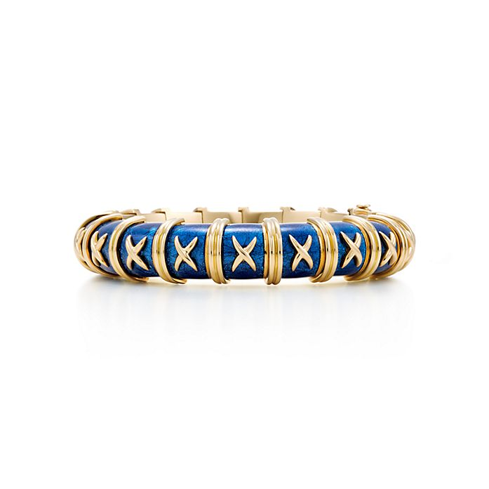 8bb40036a Tiffany & Co. Schlumberger® Croisillon bracelet in 18k gold with ...